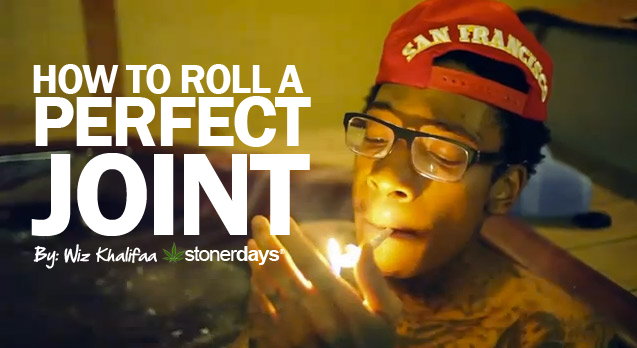 How to Roll a Perfect Joint – Wiz Khalifa