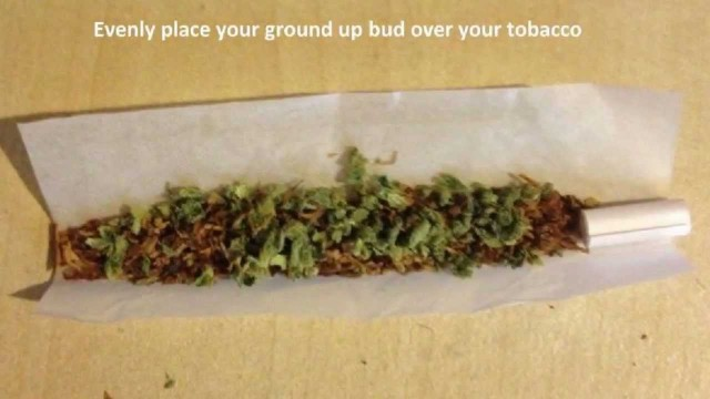 How To Roll a Joint with a Crutch