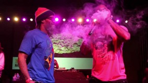 The Game and Redman at the 2013 High Times LA Cup