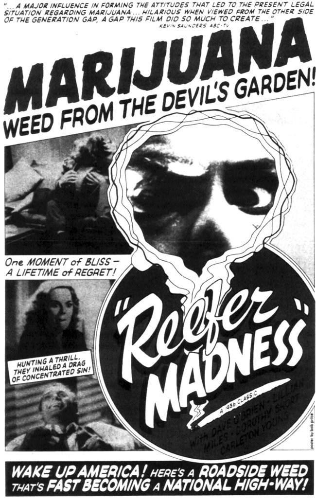 an analysis of marijuana use in reefer madness a film by louis gasnier