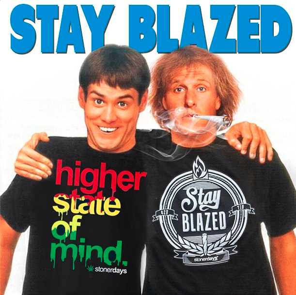 dumb and dumber stay blazed