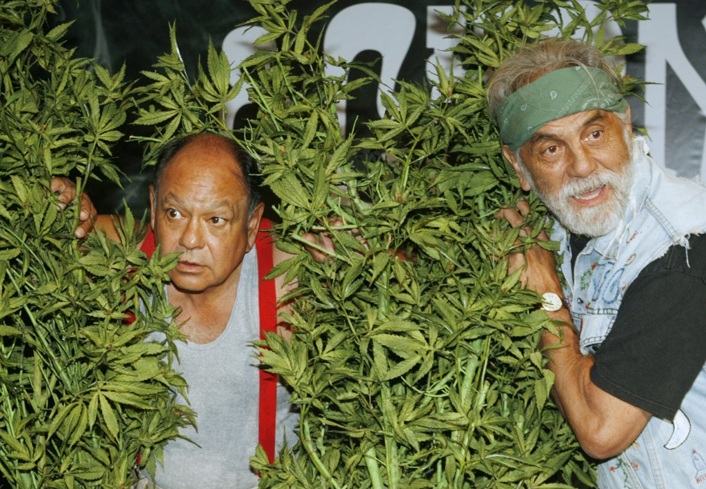 Comedians Cheech &  Chong announce first comedy tour in 25 years in Los Angeles
