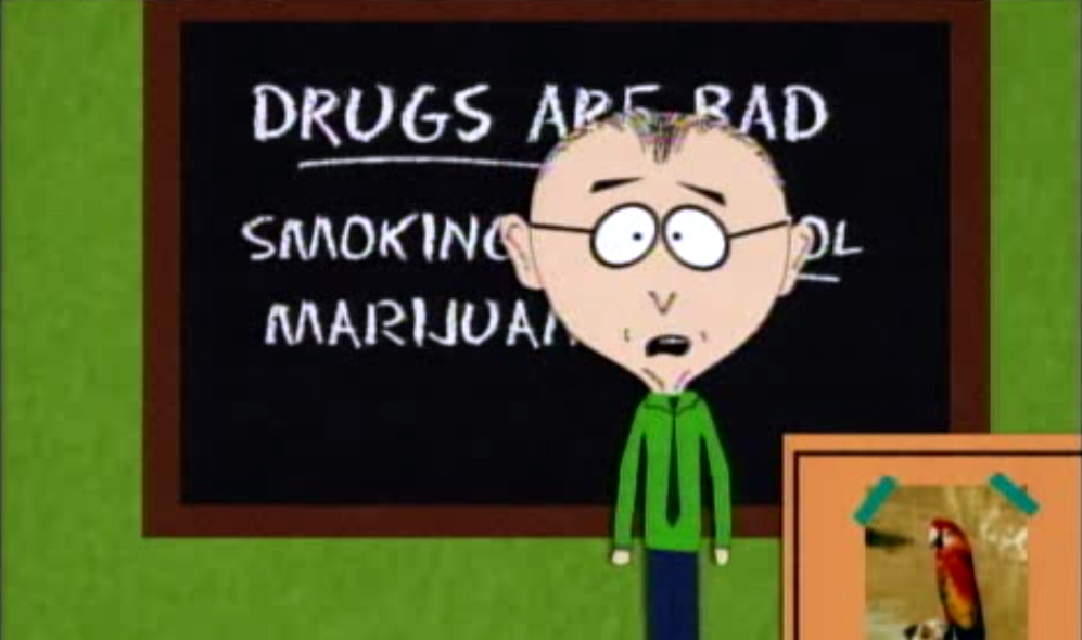 South Park - Drugs are bad mmmkay | StonerDays