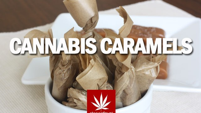 Stoner Cookbook; Cannabis Caramels