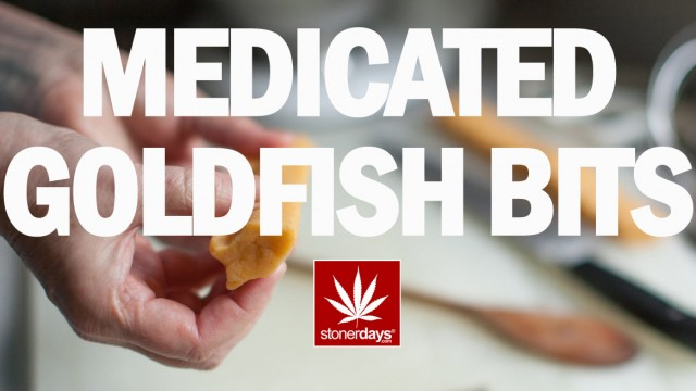 Stoner Cookbook; Medicated Goldfish Bits