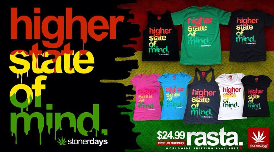 Higher State Of Mind Rasta Collection Stonerdays