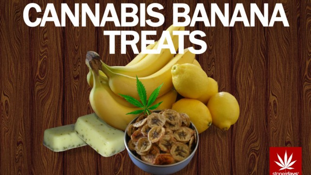 Stoner Cookbook; Cannabis Banana Treats