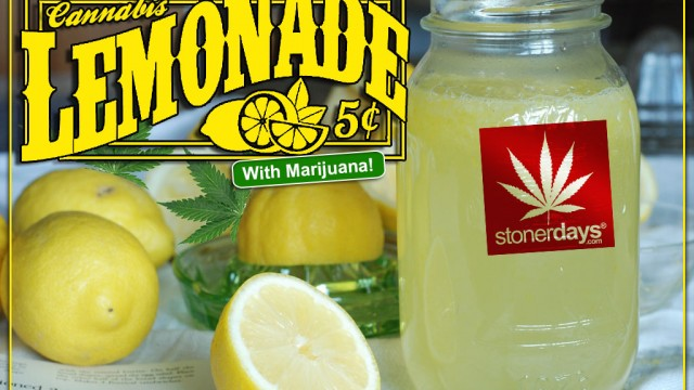 Stoner Cookbook; Cannabis Lemonade