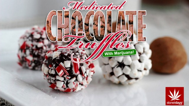 Medicated Chocolate Truffles; Stoner Cookbook