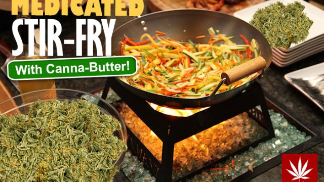 Medicated Stir Fry; Stoner Cookbook