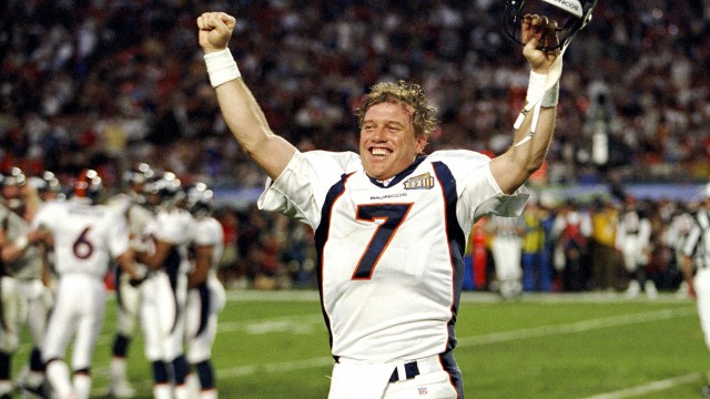 Super Bowl XXXIII Denver Broncos VS Atlanta Falcons