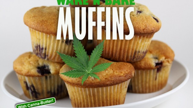 Medicated Wake And Bake Muffins; Stoner Cookbook