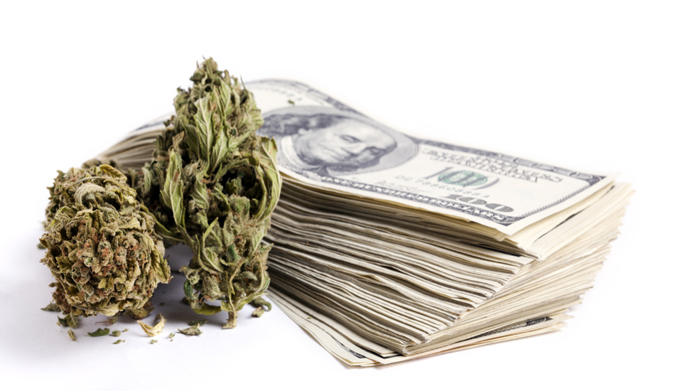 weed and money