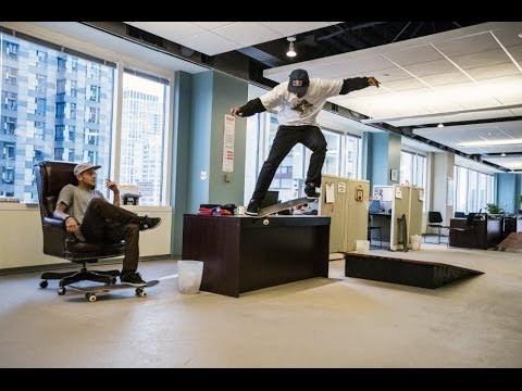 Taking Over The Office Space – Red Bull