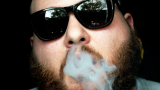 Action Bronson Lights Up On-Stage