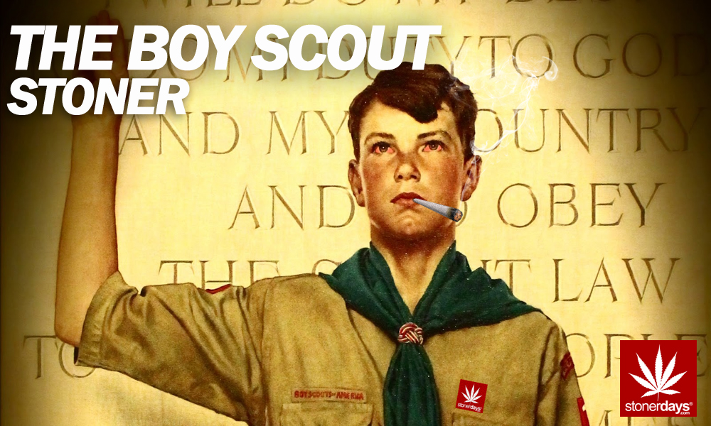 boy scout stoner copy