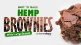 Stoner Cookbook; Hemp Brownies