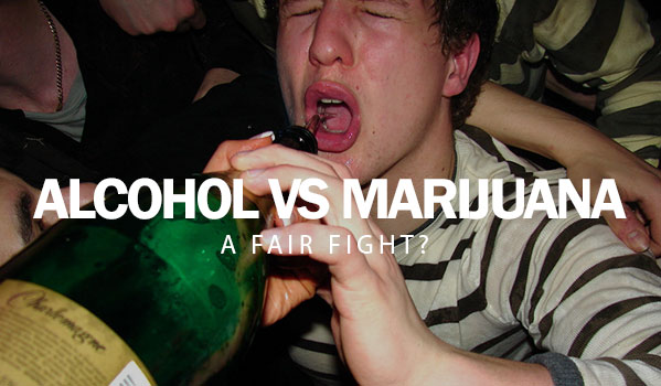Alcohol Vs. Marijuana: A Fair Fight?