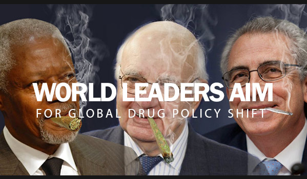 World Leaders Aim For Global Drug Policy Shift