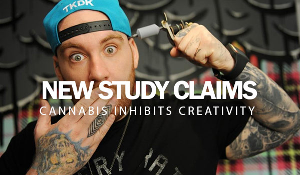 New Study Claims Cannabis Inhibits Creativity