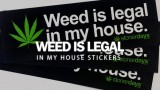 Weed Is Legal In My House Stickers