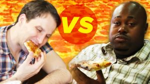 Stoned Vs. Drunk: Pizza Eating Challenge