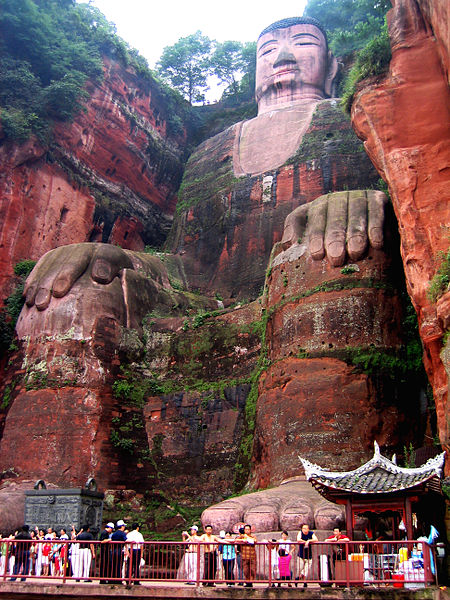 Mount Emei Scenic Area Leshan Giant Buddha, China