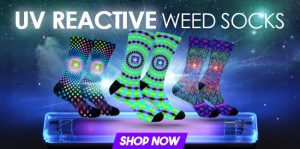 StonerDays New UV Reactive Socks