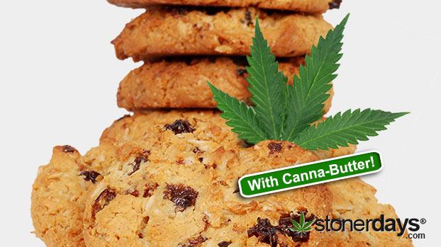 How to Make Oatmeal Cookies with Marijuana • Stoner Cookbook