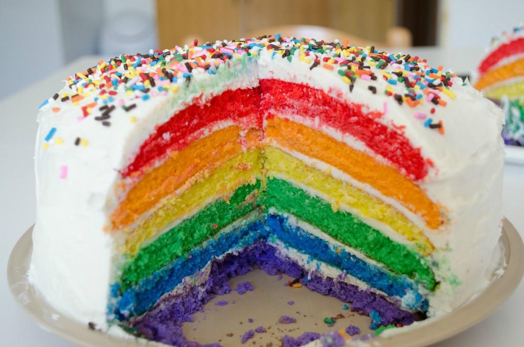 rainbow weed cakes stoner cookbook