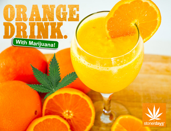 MEDICATED ORANGE DRINK