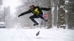 snowboarding in the snow east coast