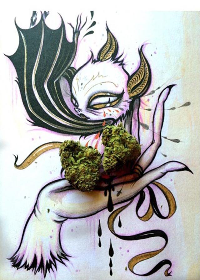 stoners marijuana pot weed stoned sexy stoner (175)