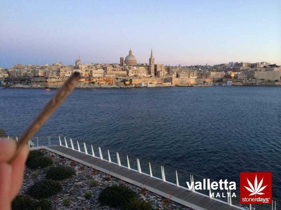 Malta-Valletta-marijuana