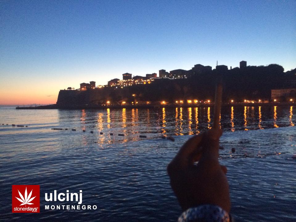 Montenegro-Ulcinj-castle-marijuana