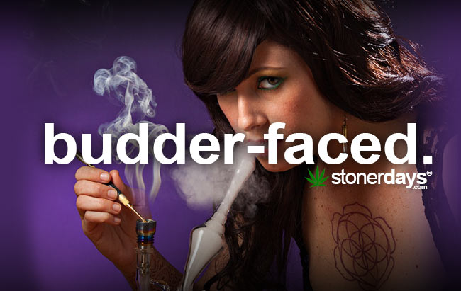budder-faced