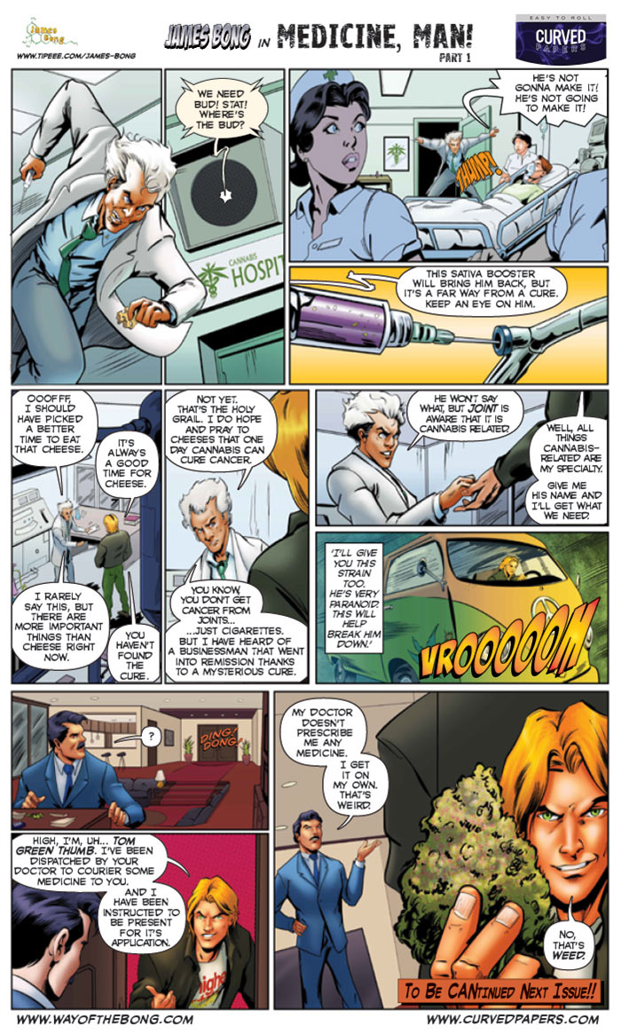 Cannabis-Comics-James-Bong-in-Medicine-Man-1